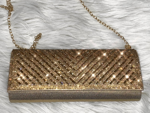 Date Night Clutch Bag- Champagne