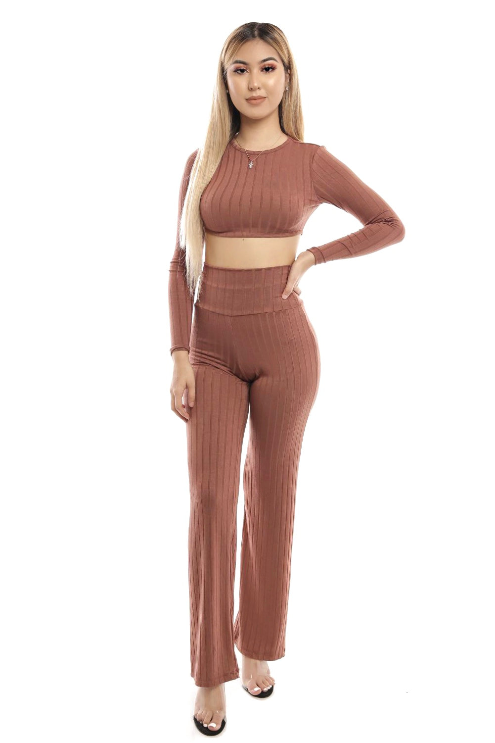 Clarissa Two Piece- Mocha