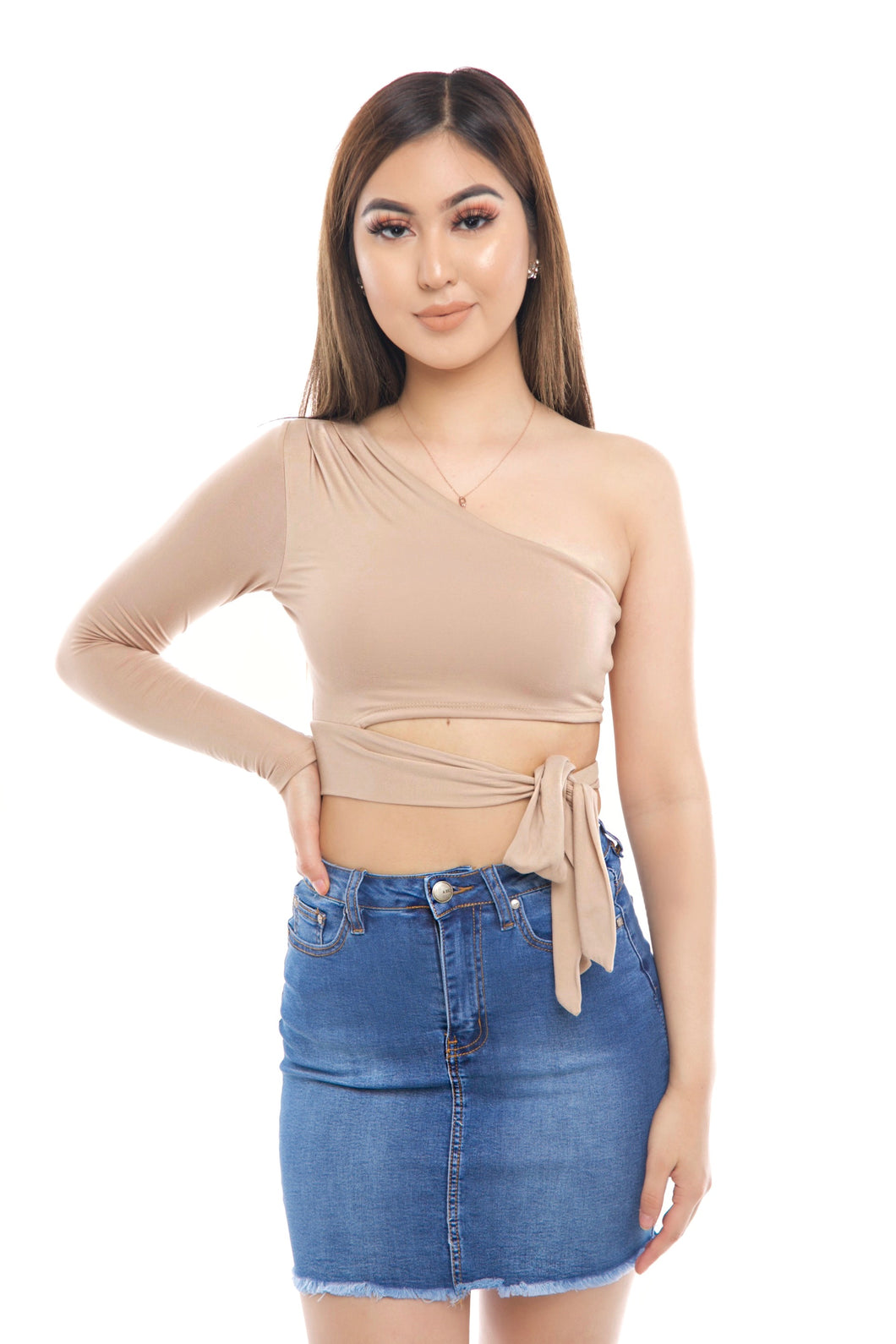 Stella Top- Taupe