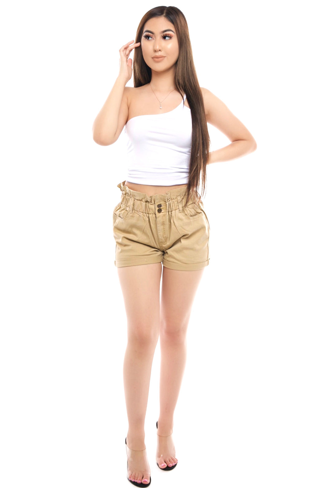 Summer Shorts- Khaki
