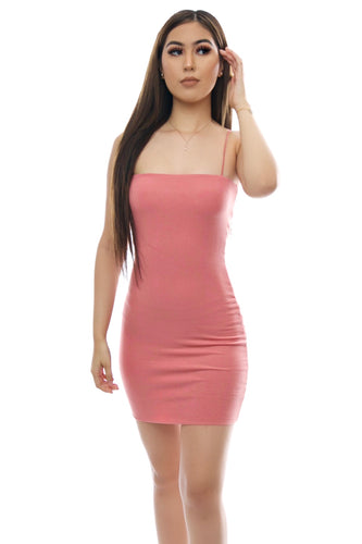 Bella Dress- Mauve