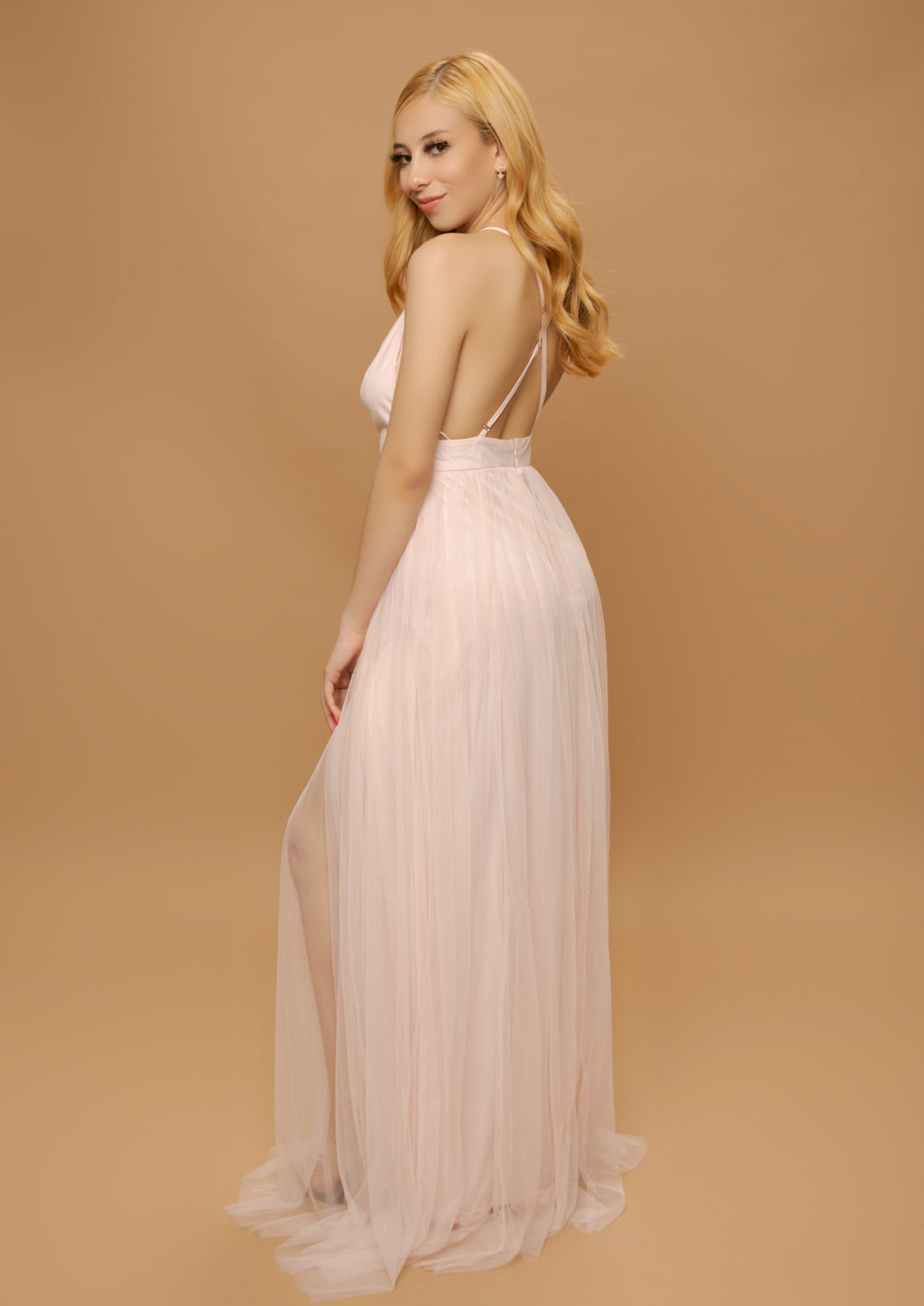 Naveah Dress- Light Pink