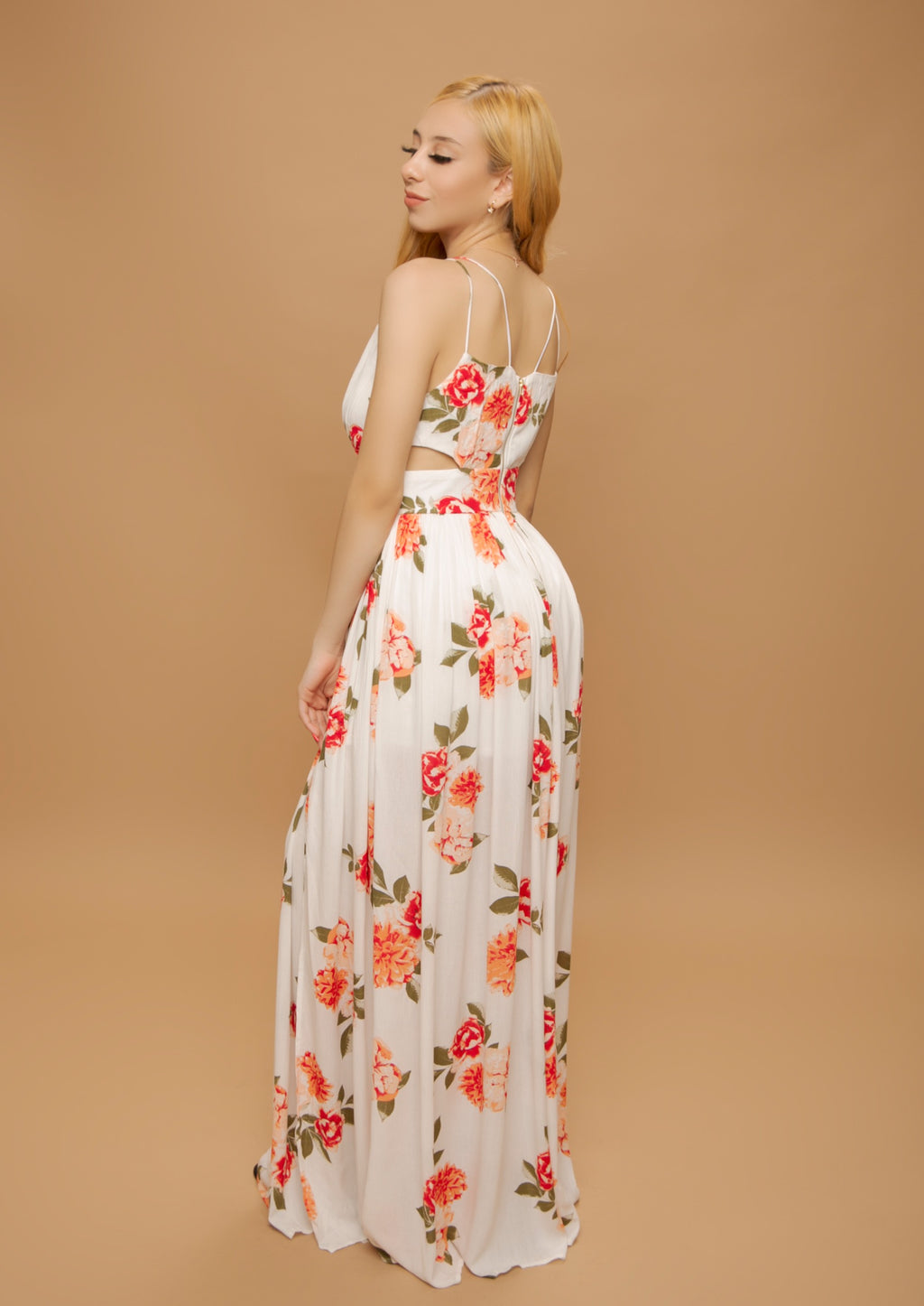 Lucinda Dress- White
