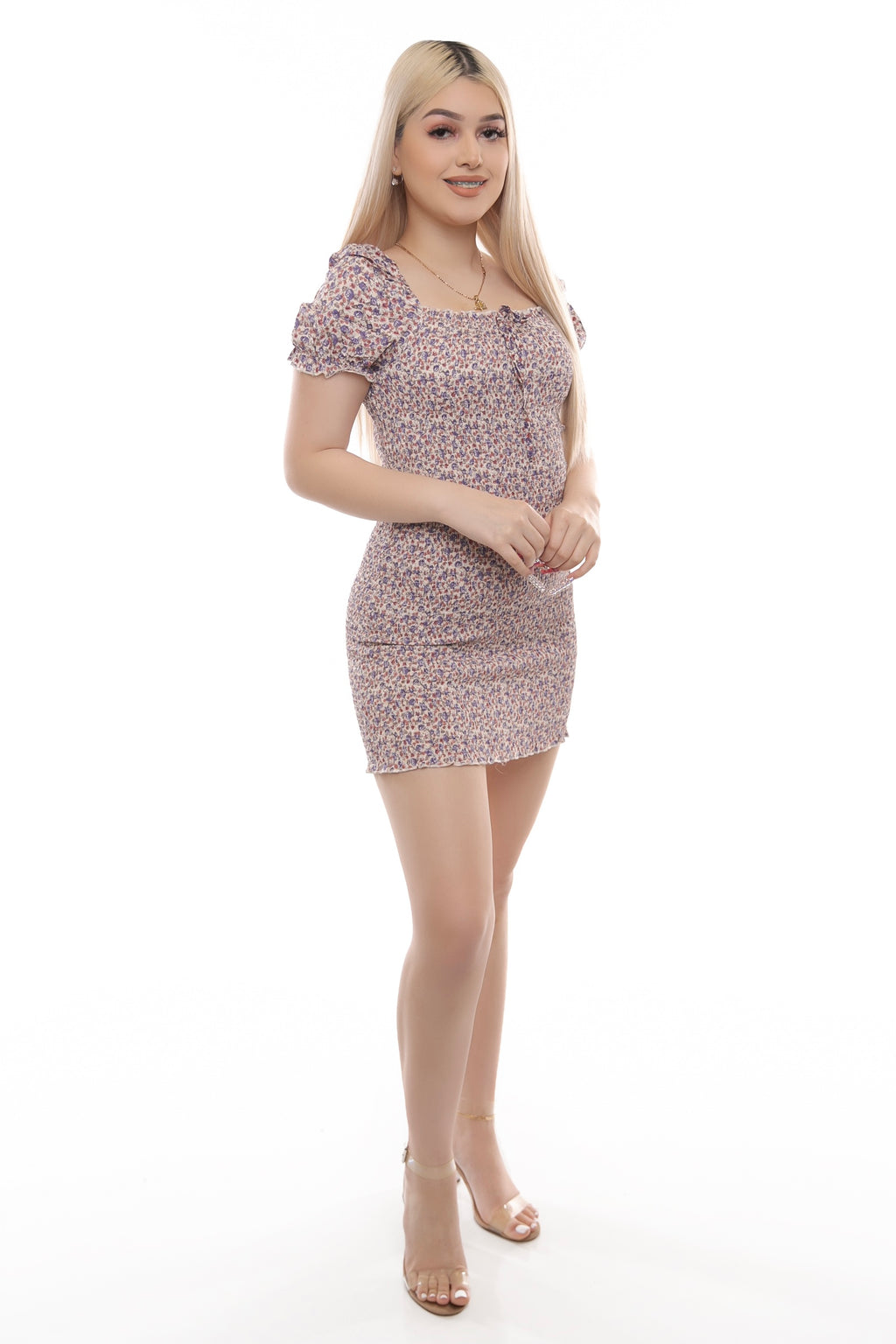 Leilani Dress- Beige