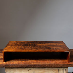 Photo of Book-matched Walnut Handmade Stand