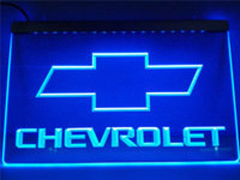 LED Neon Light Sign Automotive Shop Man Cave