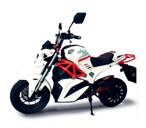 Motorcycle electric URBAN ROAD L3, equivalent to 125cc. Motor 5000w, 72V, 50AH, Colin solo seat