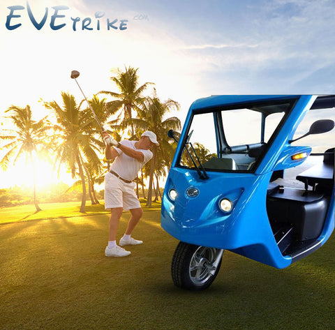 New generation of high quality electric tricycle