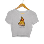 Baromin Women's Printed Crop Tops - Pizzafme