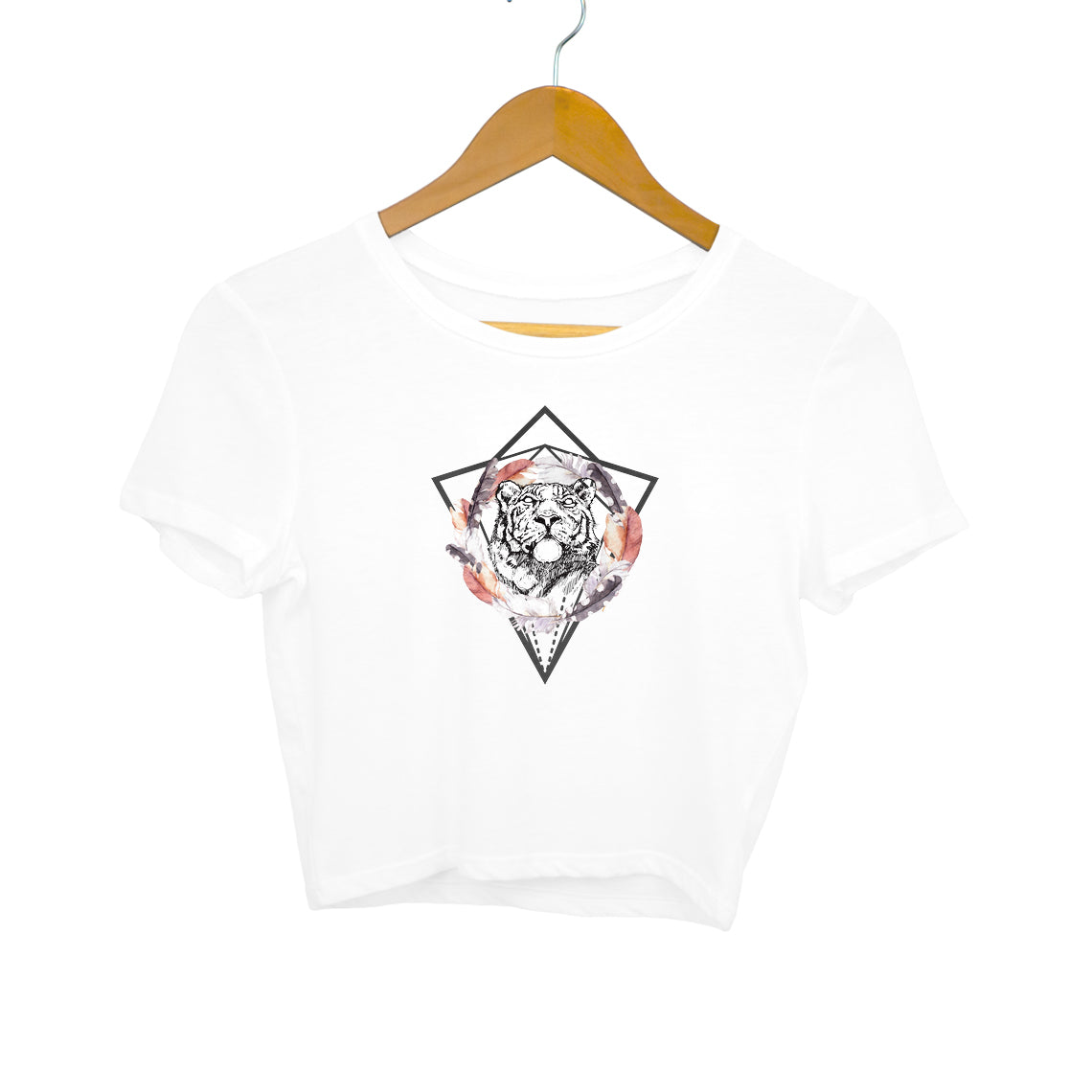 Baromin Printed Crop Tops - Tiger Catcher