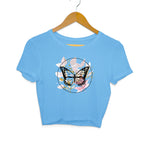 Baromin Printed Crop Tops - ButterFly