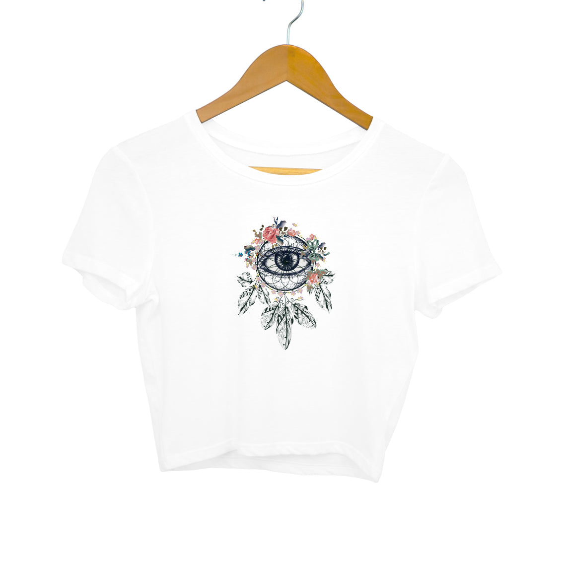Baromin printed Crop Top