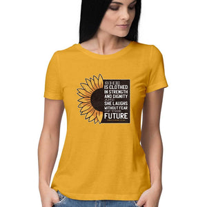 Baromin Women's Printed T-shirt