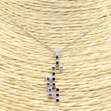 Load image into Gallery viewer, Bitcoin Blockchain Necklace