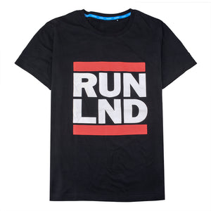 RUN LND Cotton Short Sleeve T-Shirt