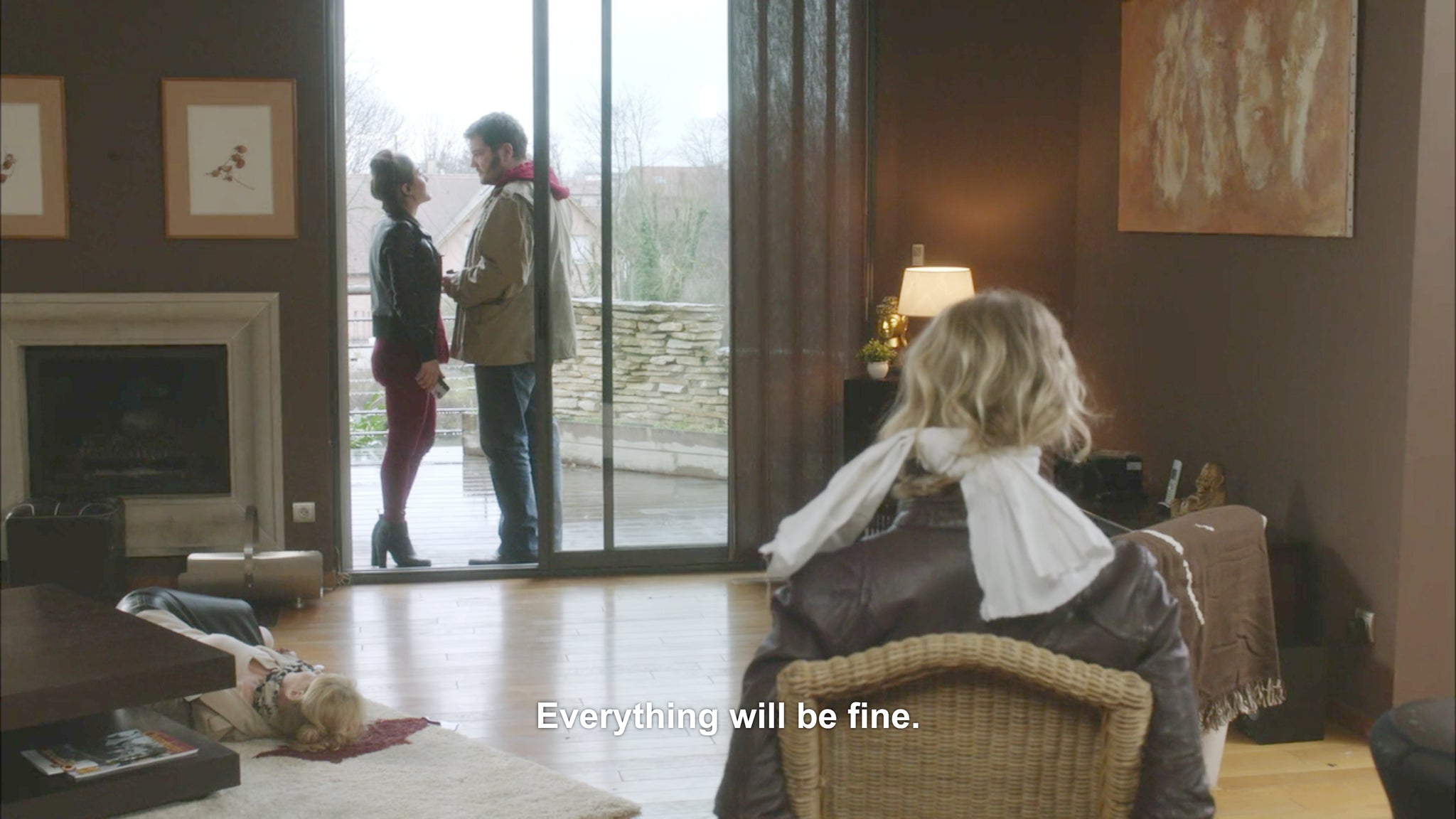 Allan McCollum: An Ongoing Collection of Screengrabs with Reassuring Subtitles -ok673
