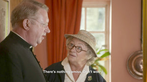 Allan McCollum: An Ongoing Collection of Screengrabs with Reassuring Subtitles -ok691