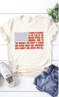 Pledge of Allegiance Tee