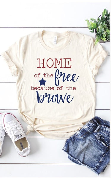 Because of the Brave Tee