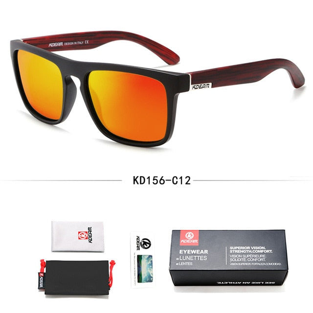 All-Fit Mirror Fashion Guy's Polarized Sun Glasses