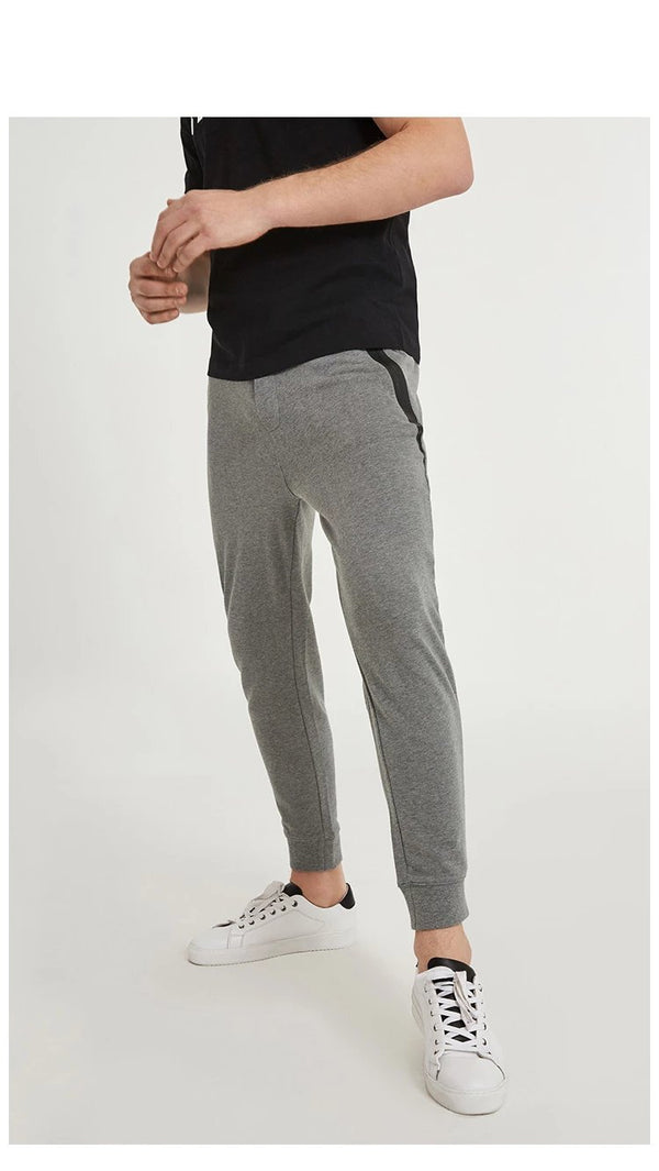 Men's Stretch Jogger Pants with Zipper Pockets