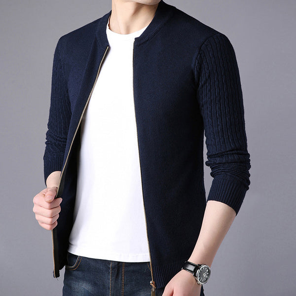 Knitwear Warm Sweatercoat Cardigans Men's Sweater