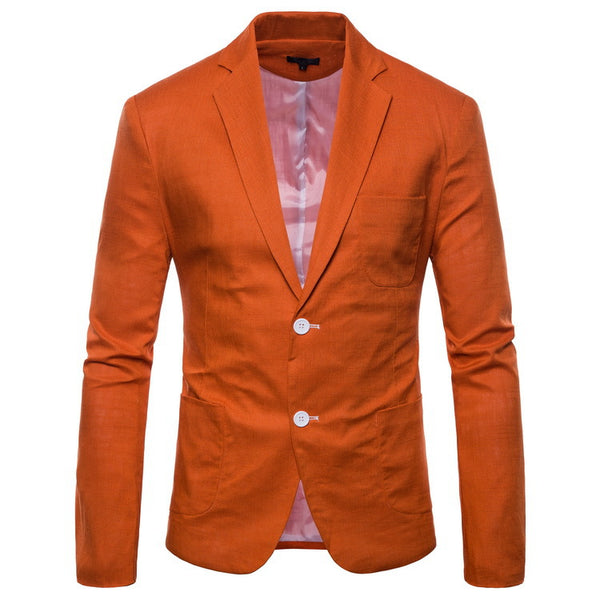 Slim Fit Suits Men Quality Casual Blazers