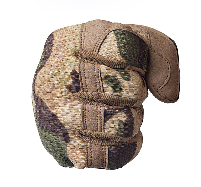 Airsoft Motocycel Shoot Paintball Work Gear Full Finger Gloves