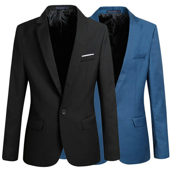 Men's Korean Slim Fit Arrival Cotton Blazer