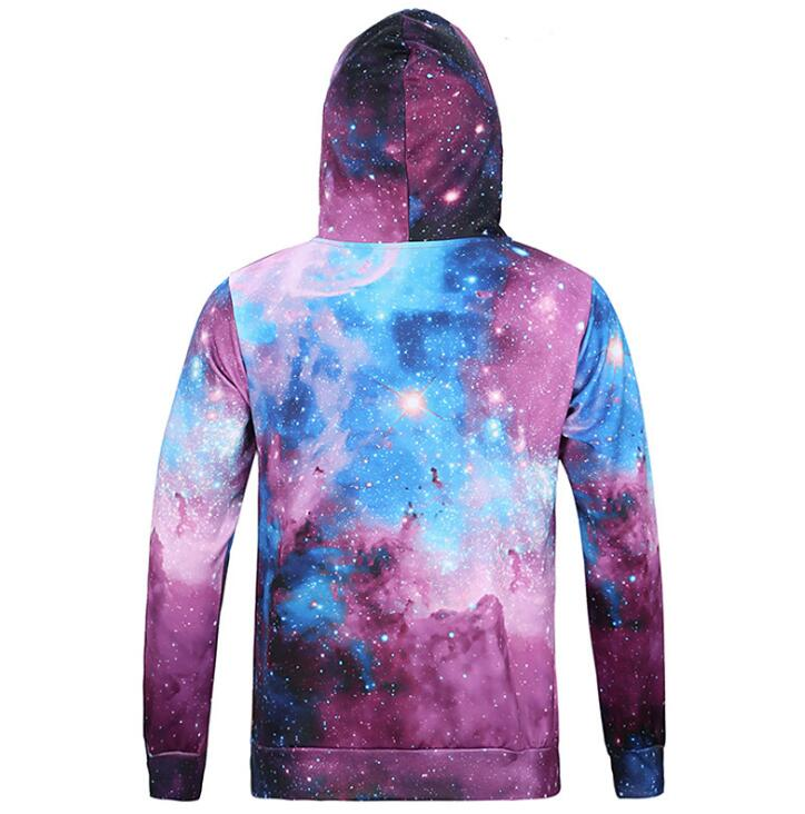 3D Printed Top Quality Stars Men Hoodies