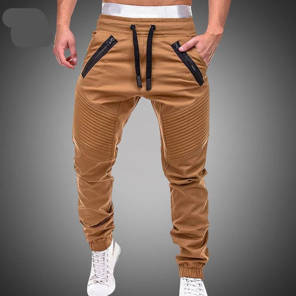 Leisure Cotton Mens Joggers Casual Sweatpants