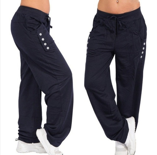 Leisure Workout Athletic Fitness Track Winter Yoga Pants