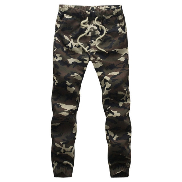 Camouflage Military Pants Loose Comfortable Pencil Sweatpants