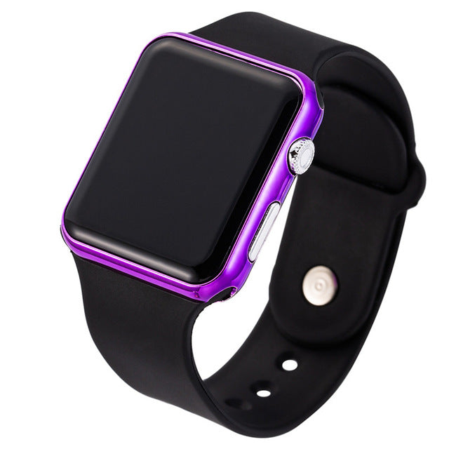Luxury Famous Brand Silicone Digital LED Watches