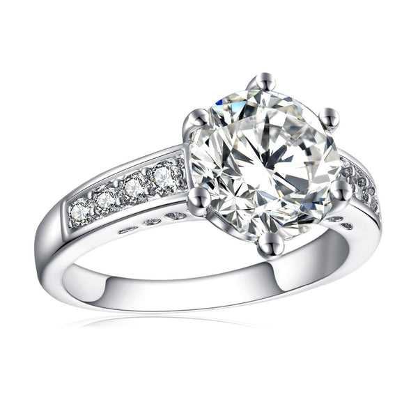 Fashion Show Elegant Temperament Charming Wedding Ring