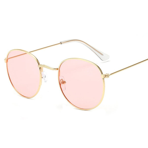 Alloy Mirror Vintage Sun Glasses