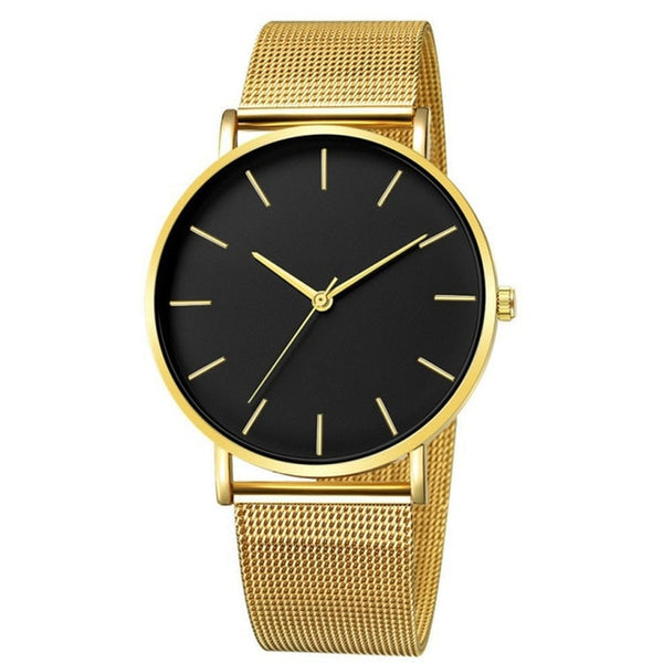 Stainless Steel Bracelet High Quality Casual Wrist Watch