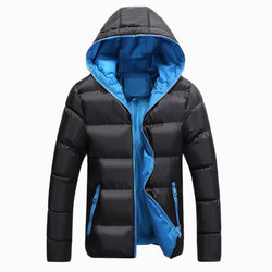 Windbreaker Masculino Slim Fit Hooded Fashion Casual Jackets