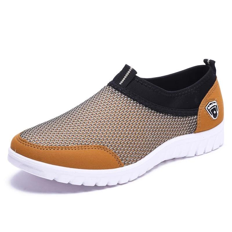 Breathable Men's Casual Slip-On Male Shoes