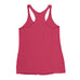 Women's Straight GAINSTER Tank Top - Hot Pink with White Print