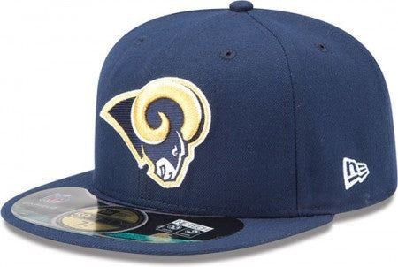NFL ON FIELD 5950 ST.LOUIS RAMS GAME HAT