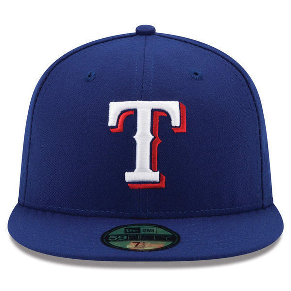 Texas Rangers New Era MLB On-Field 59FIFTY Fitted Hat