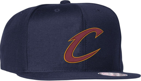 MITCHELL & NESS Cleveland Cavs Solid Snapback