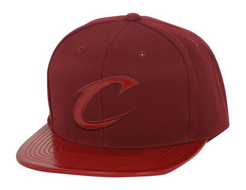 Mitchell & Ness Cleveland Cavaliers Patent 2T Tonal Snapback