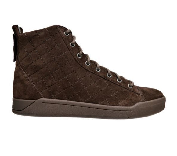 Men's Tempus Diamond Suede High Top Sneakers