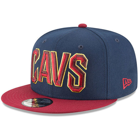 Cleveland Cavaliers New Era 2018 Eastern Conference Champions Side Patch Two-Tone 9FIFTY Snapback Adjustable Hat