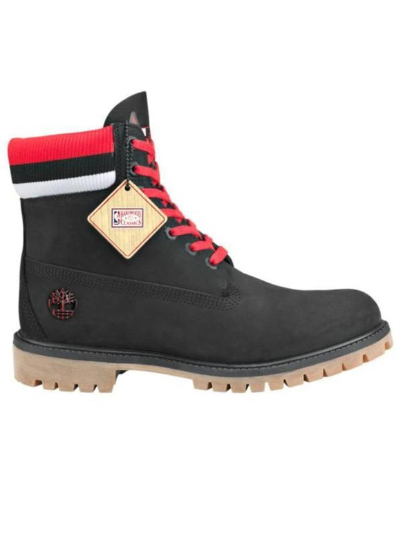 Men's X  Mitchell & Ness x NBA 6-Inch Premium Boots Black