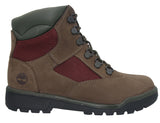 Junior's Field Boot 6-Inch Leather and Fabric Boot