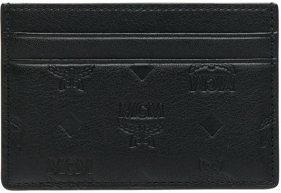 MCM Card Case in Monogram Leather