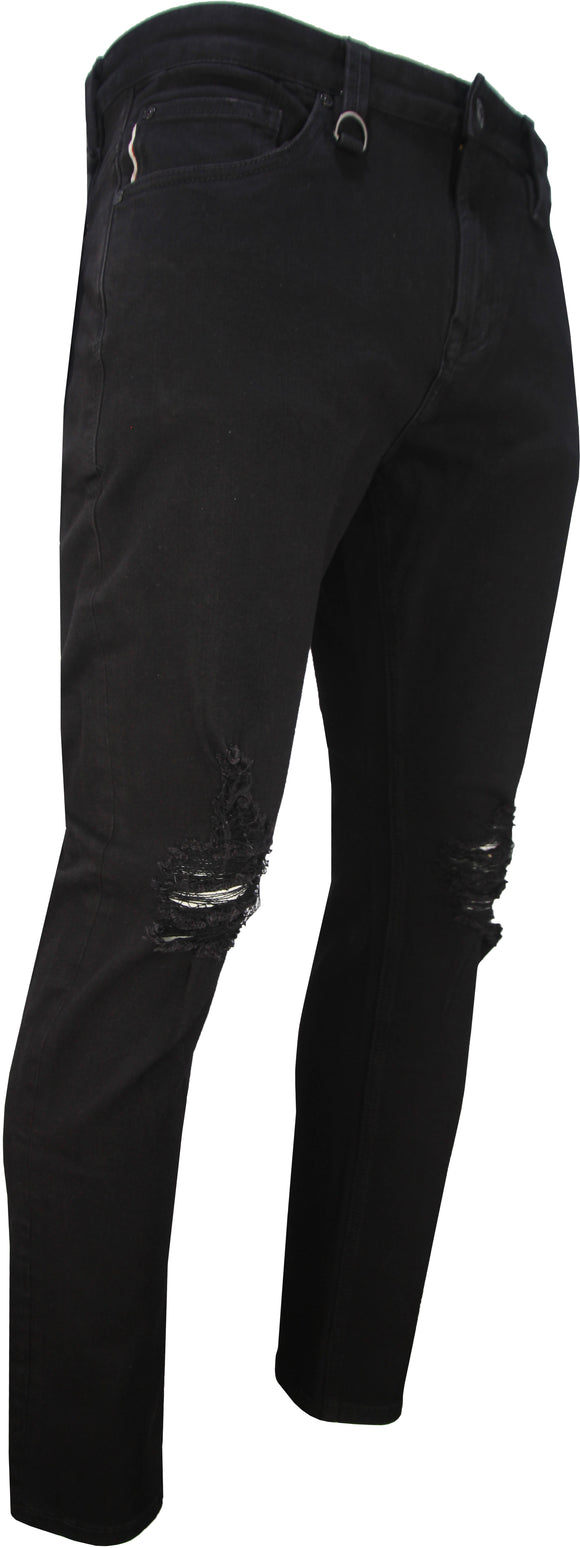 Men's Super Stretch Jeans Black Cat (J284-2)